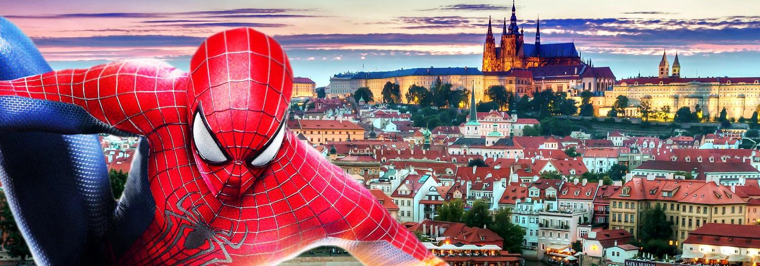 Человек-паук будет рекламировать Прагу