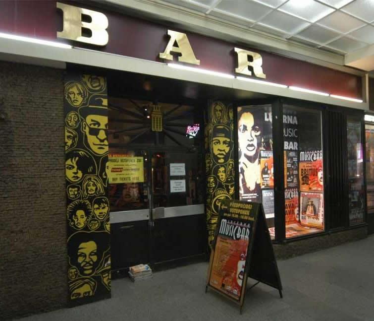 Lucerna music-bar в Праге