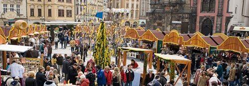 Пасхальные ярмарки в Праге