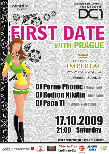 FIRST DATE with PRAGUE!