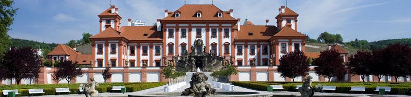 Тройский дворец в Праге