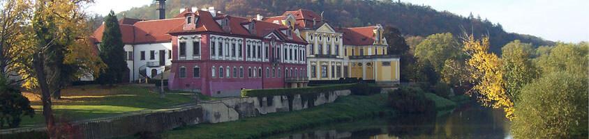 Замок Збарслав в Праге
