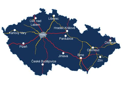 Автострады Чехии