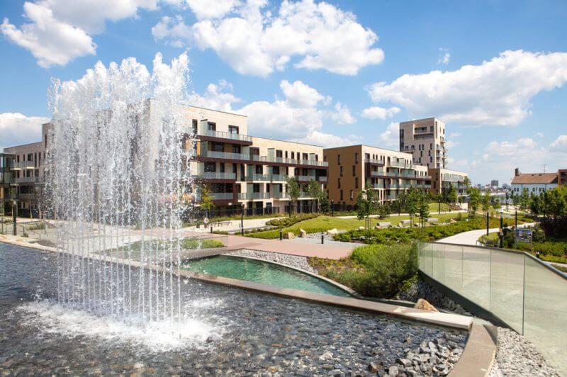 "Продажа квартир класса ""люкс"" в резидентном комплексе с садом - Прага 4"