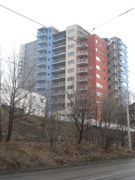 Продажа квартир в новом жилом доме в Праге 4