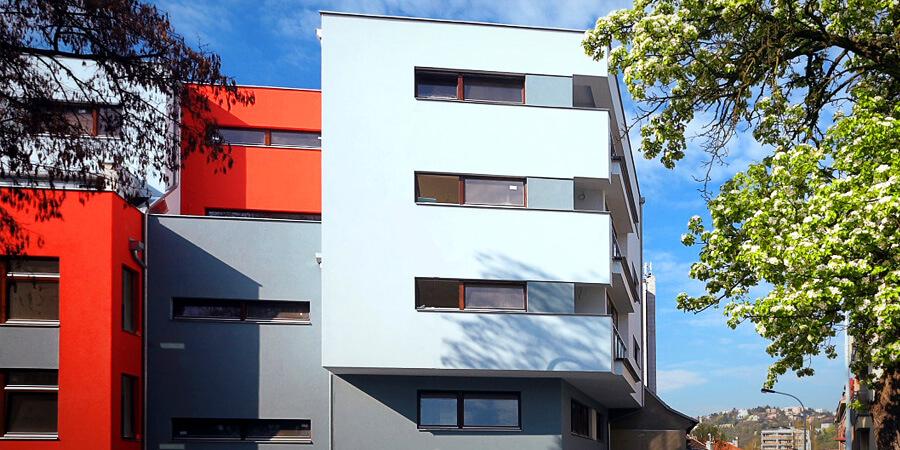 Современные квартиры среди зелени в Праге 4