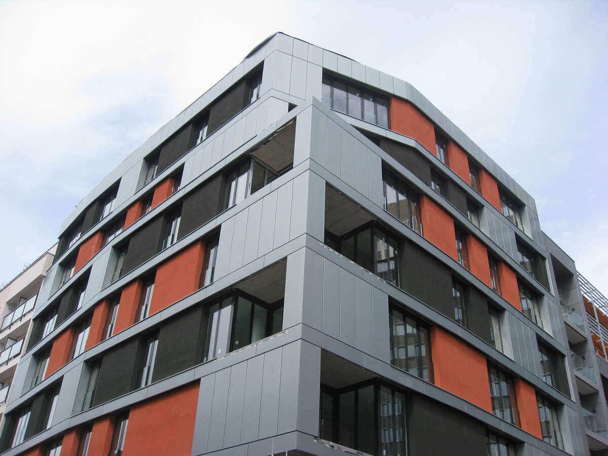 Продажа новых квартир в резиденции в Праге 4 - у станции метро