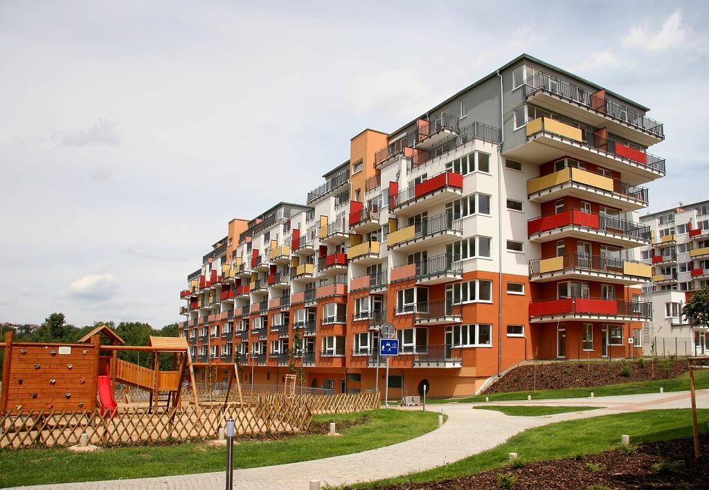 Продажа квартир в новом этапе проекта в Праге 9