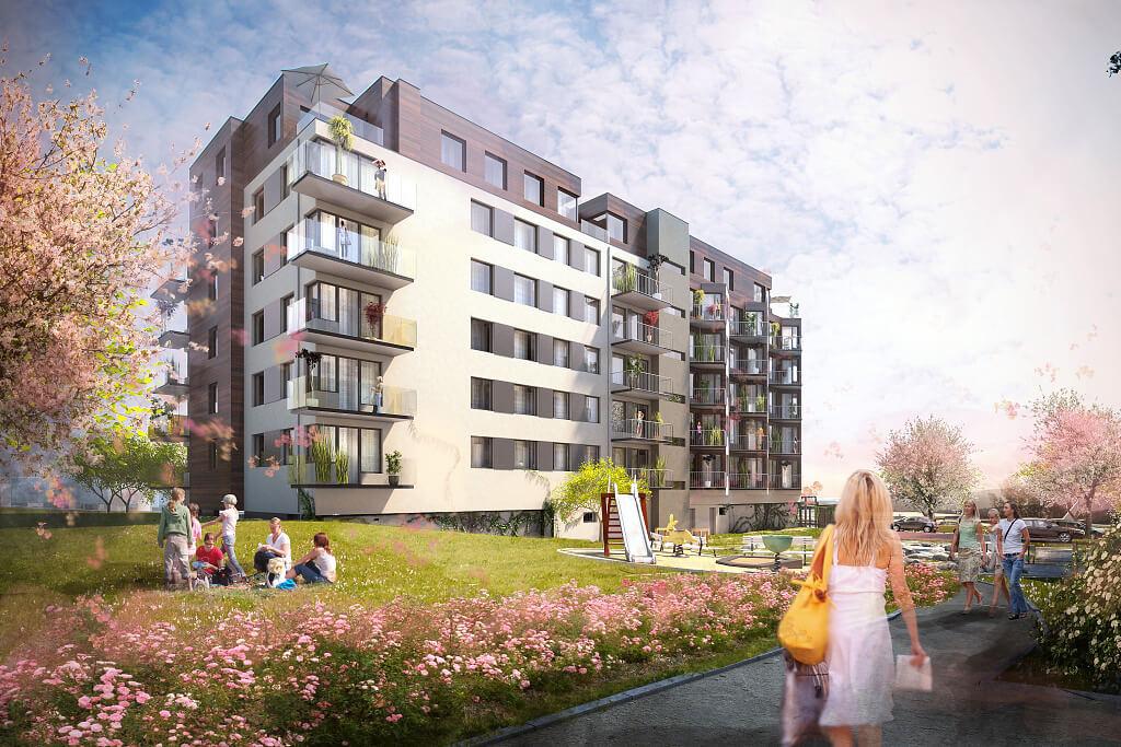 Продажа новых квартир в жилом комплексе в Праге 5, Баррандов
