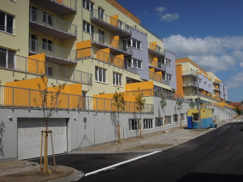Продажа новых квартир в зеленом районе в Праге 10