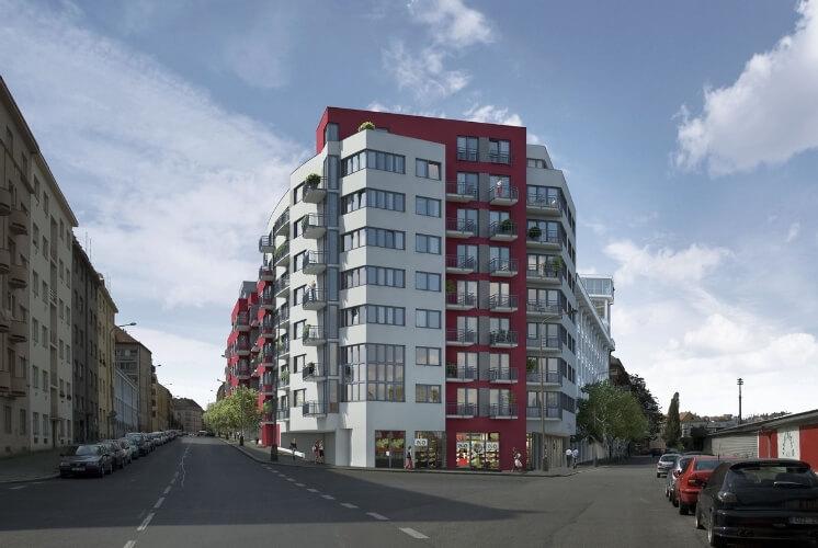 Продажа квартир на этапе строительства в Праге 4