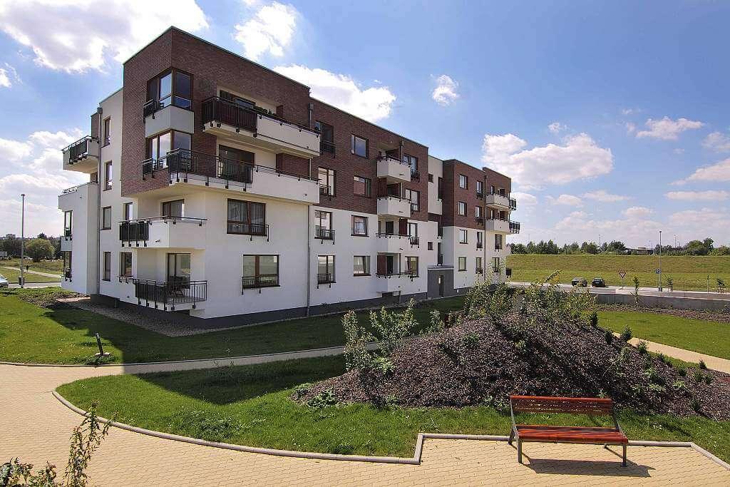 Продажа квартир в новом комплексе в зеленом районе Праги 10