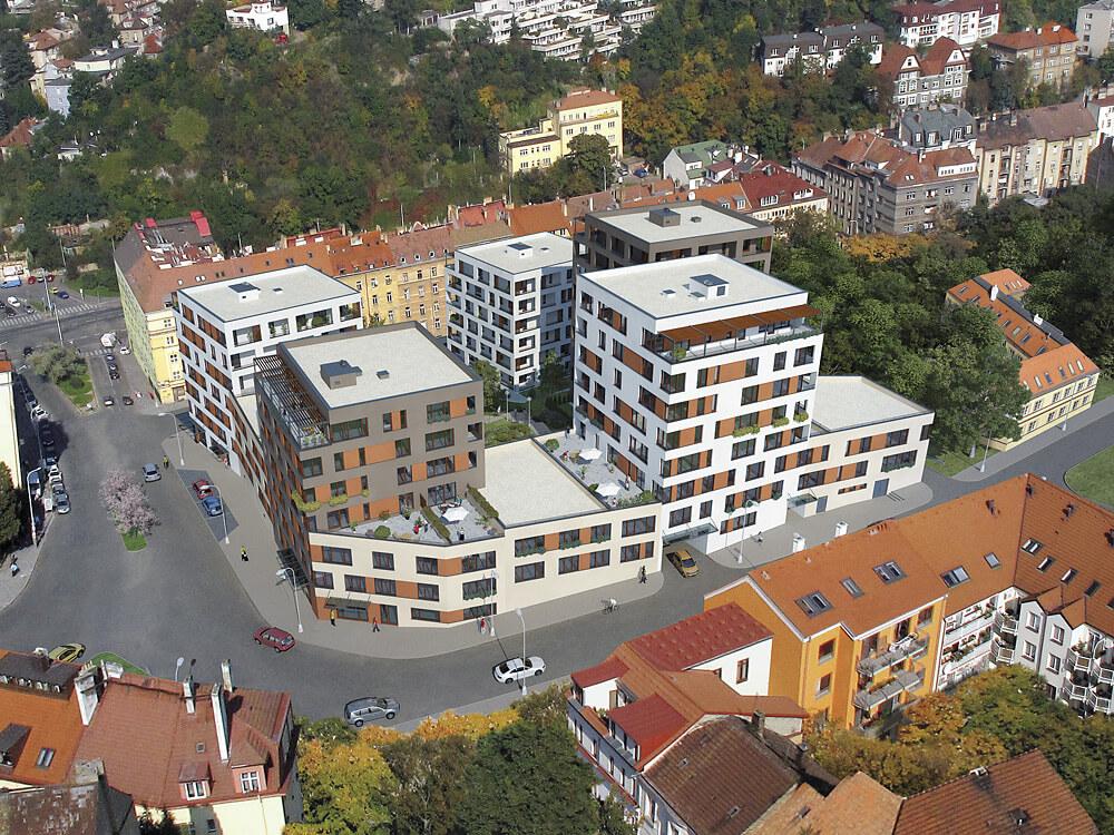 Продажа новых квартир в престижном районе Праги 5 - Коширже