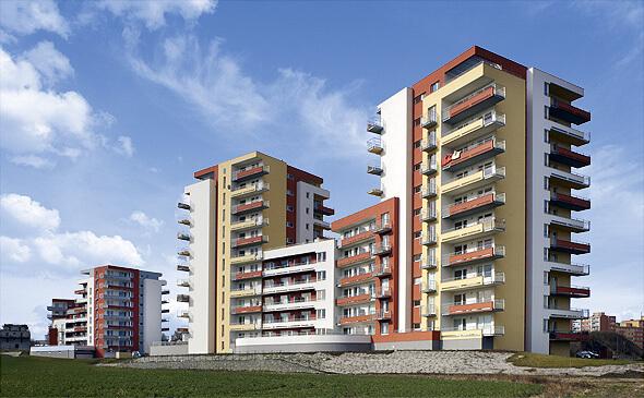 Резидентный комплекс в Праге 9 - Летняны