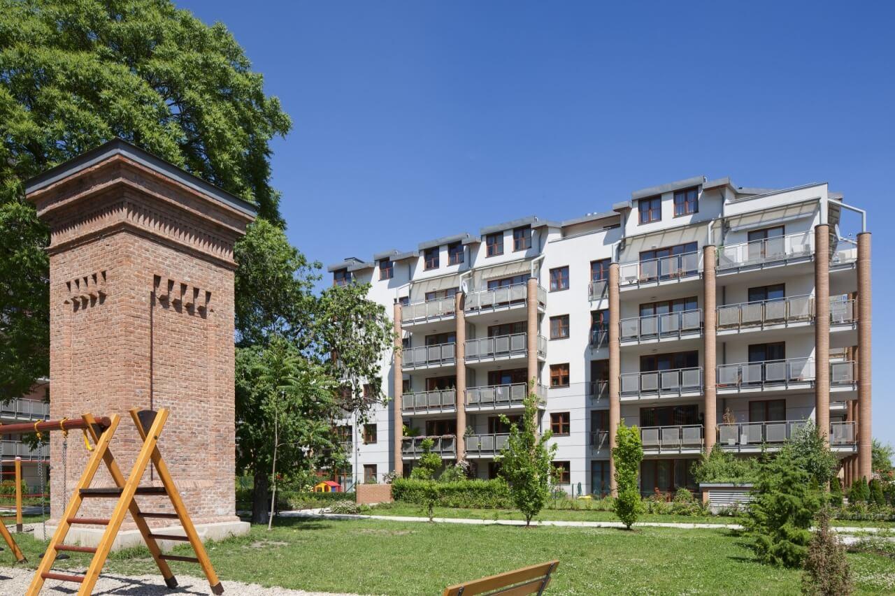 Современный жилой комплекс в Праге 6 - Дейвице