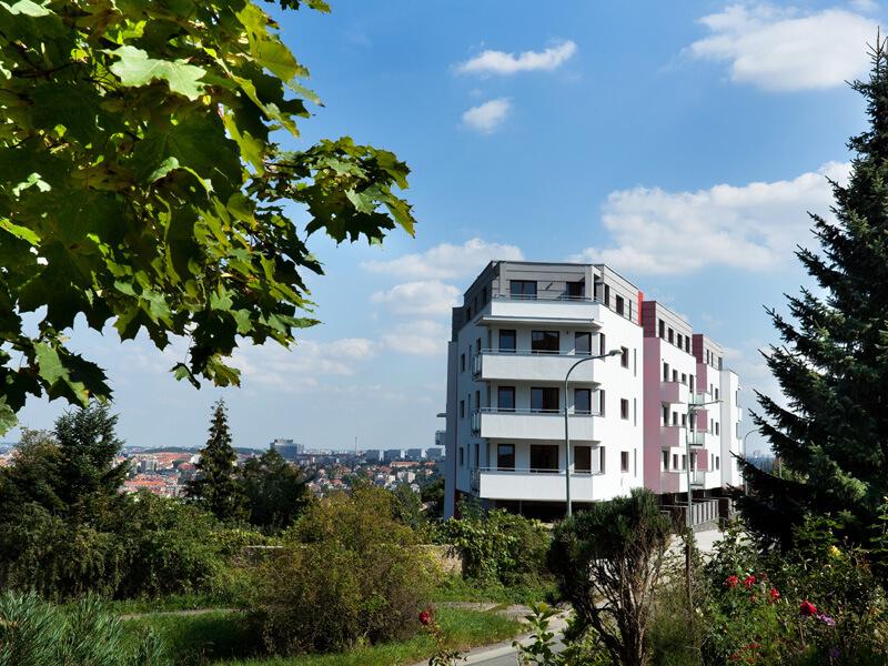 Продажа квартир в резиденции в зелени - Прага 5