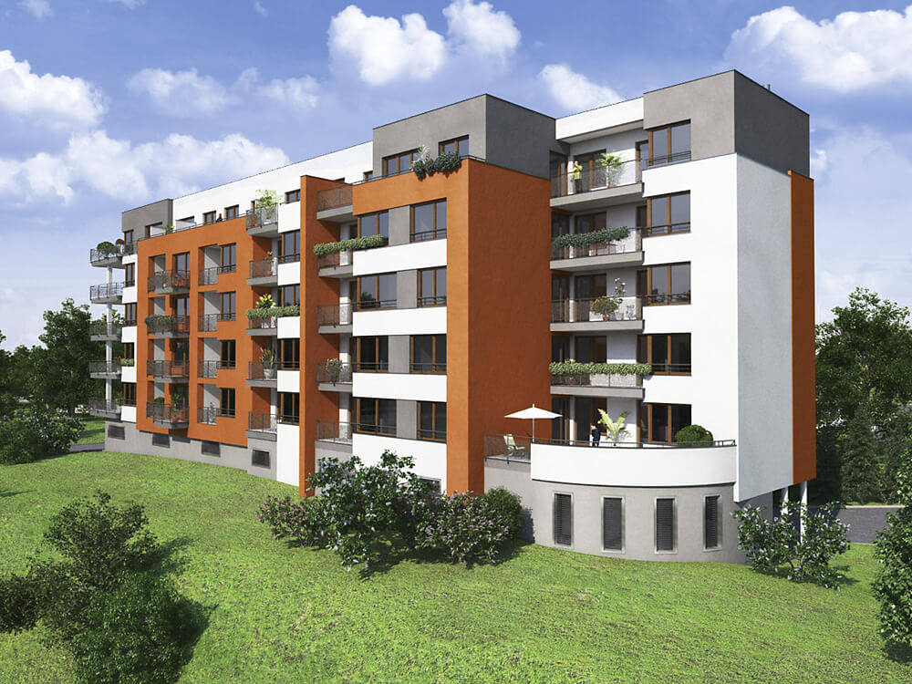Продажа квартир в зеленом районе Праги 4