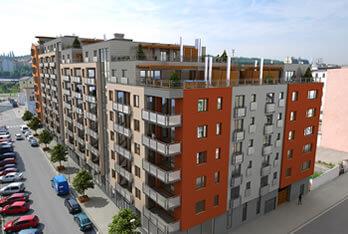 Продажа квартир в строящемся доме - Прага 9