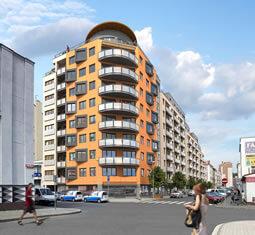 Продажа квартир в строящемся доме - Прага 9, вблизи торгового центра Харфа