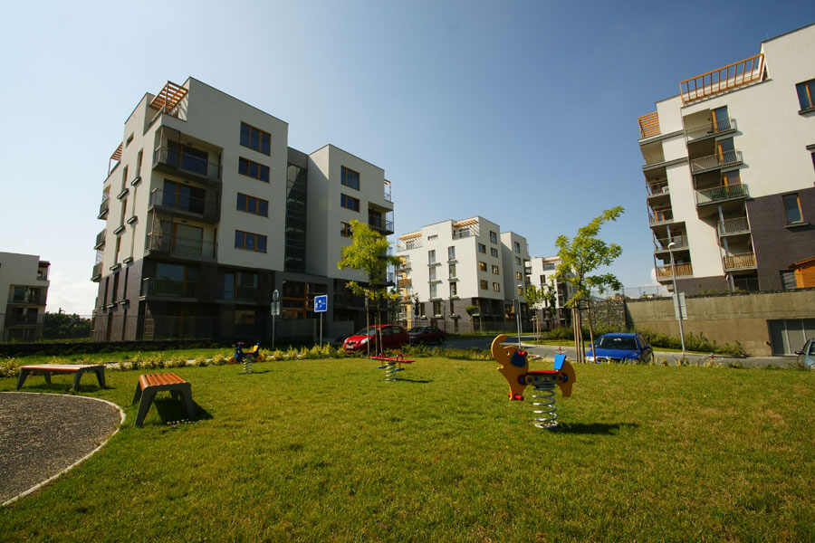 Продажа квартир в зеленом районе Праги 10