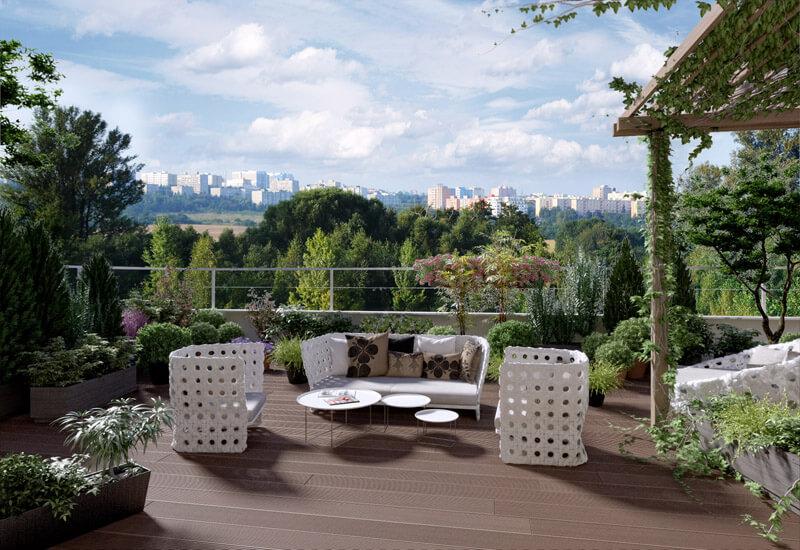 Продажа квартир в комплексе жилых домов посреди природы - Прага 10