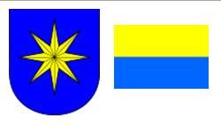 Герб и флаг города Бенешов