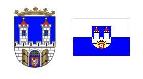 Флаг и герб города Хомутов