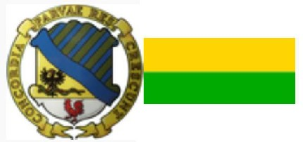 Герб и флаг города Франтишковы Лазни, Чехия