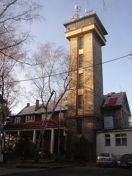 Ресторан и наблюдательная башня на Кожове горе