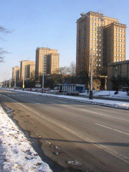 Жилой массив в квартале Розделов