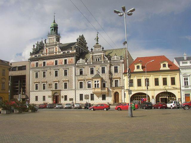 Здание колинской ратуши