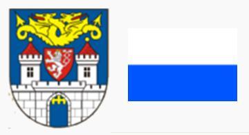 Герб и флаг города Колин