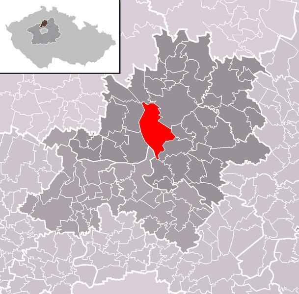 Положение города Мельник в рамках района и административного округа населенного пункта с раширенным правомочием Mельник