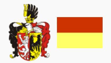 Герб и флаг города Мельник, Чехия