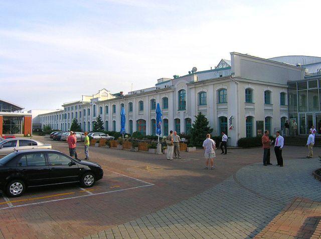 Первоначальное здание фирмы «Лаурин и Клемент» в Млада Болеславе