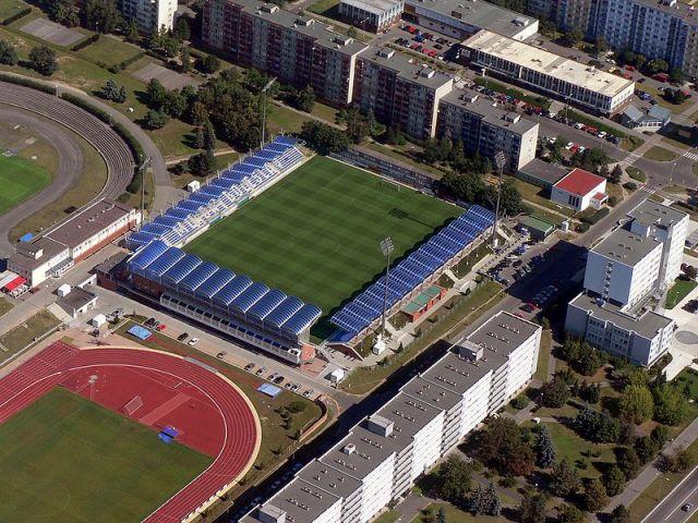 Стадион младоболеславского футбольного клуба