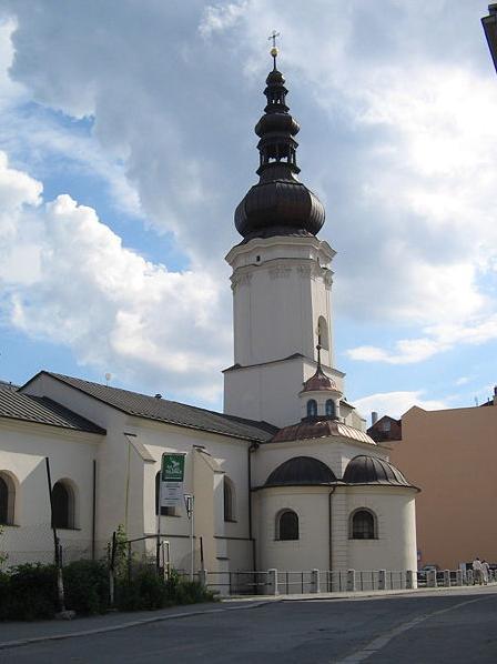 Koстел Святого Вацлава в Остраве