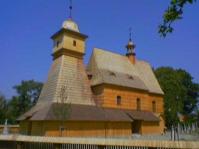 Деревянный костел Святой Катержины в Остраве-Грабове