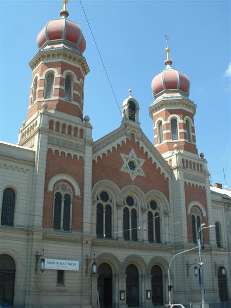 Пльзеньская синагога относится к крупнейшим во всей Чешской Республике