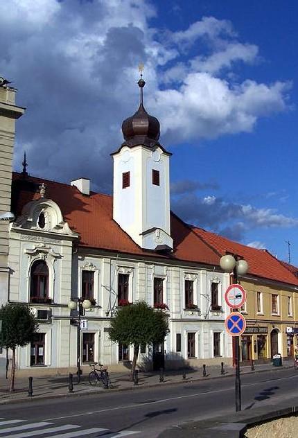 Здание старой ратуши, ныне – городской библиотеки