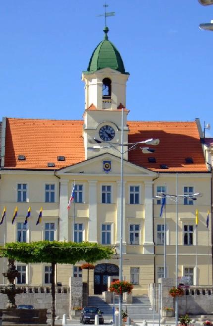 Здание Теплицкой мэрии